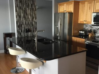 Antique Brown granite Kitchen and Island