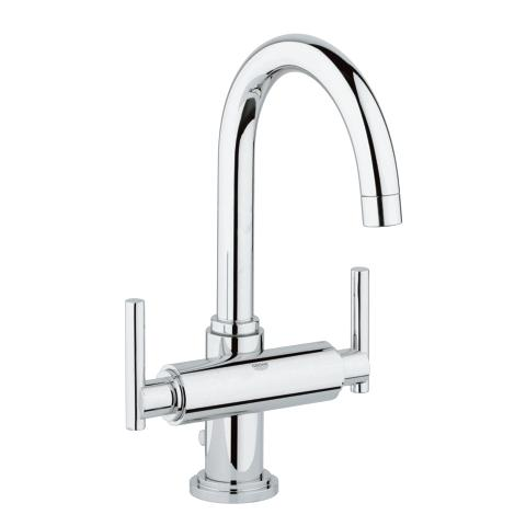 Atrio Vanity Faucet with Jot Levers_Grohe_Bella Marble