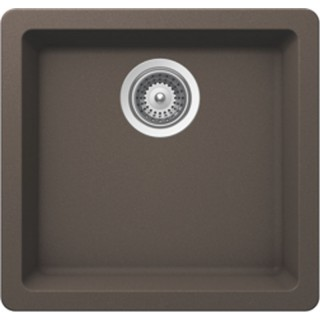 B307 Virtuo Granite Coffee Brown Sinks - Single Bowl_Bristol Sinks_Bella_Marble
