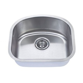 B704 Stainless Steel Single Bowl_Bristol Sinks_Bella_Marble