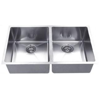 B927 Undermount Double Sink with 15mil Radius Corners_Bristol Sinks_Bella_Marble