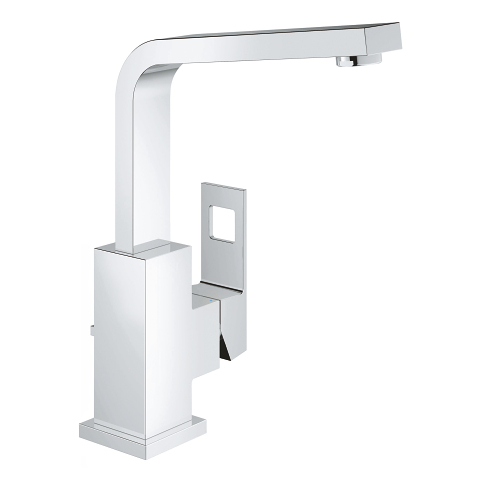 Eurocube High Spout Vanity Faucet_Grohe_Bella Marble